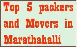 Packers and movers marathahalli