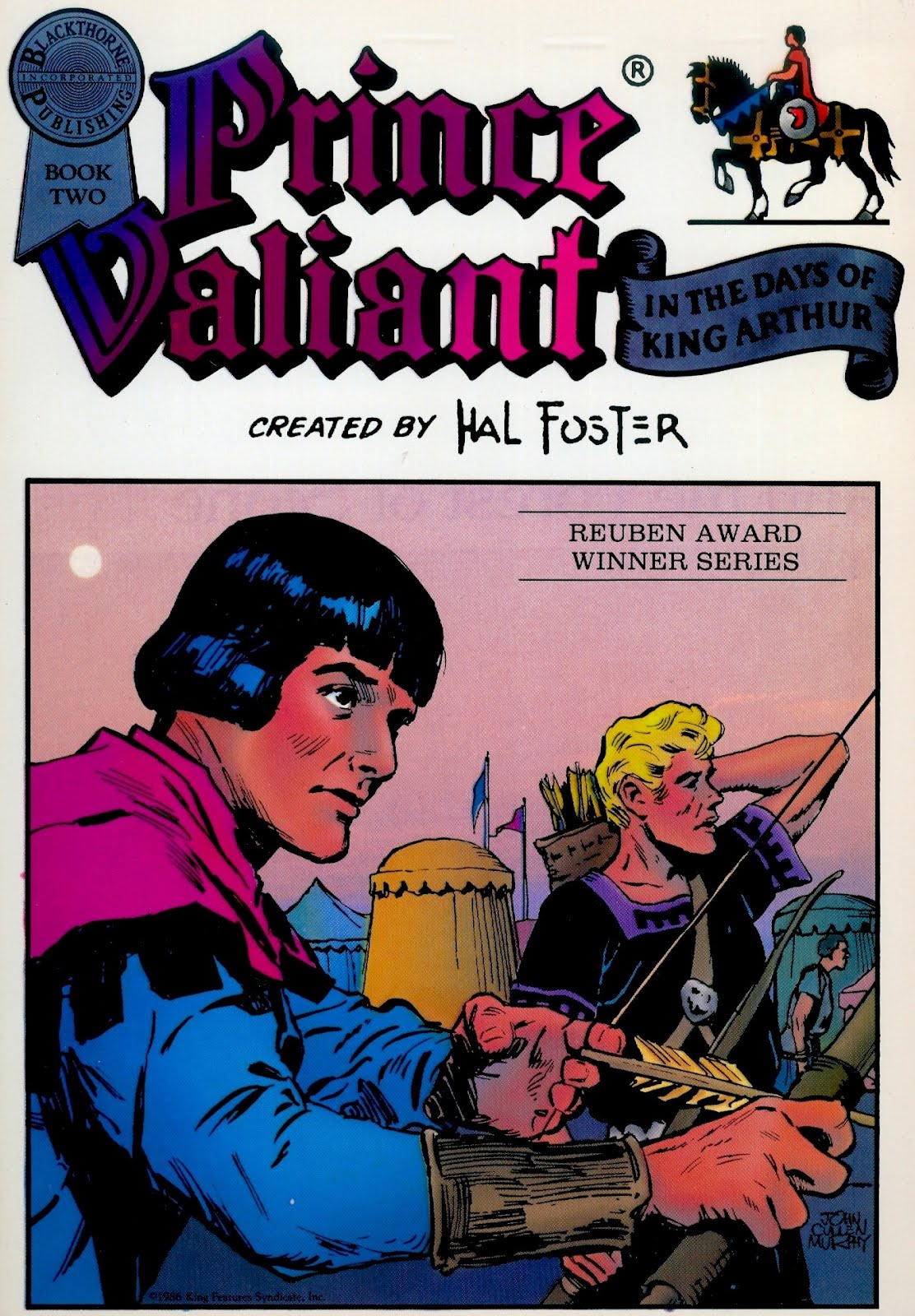 A Prince Named Valiant August 2012