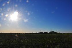 Explodierende Sonne...