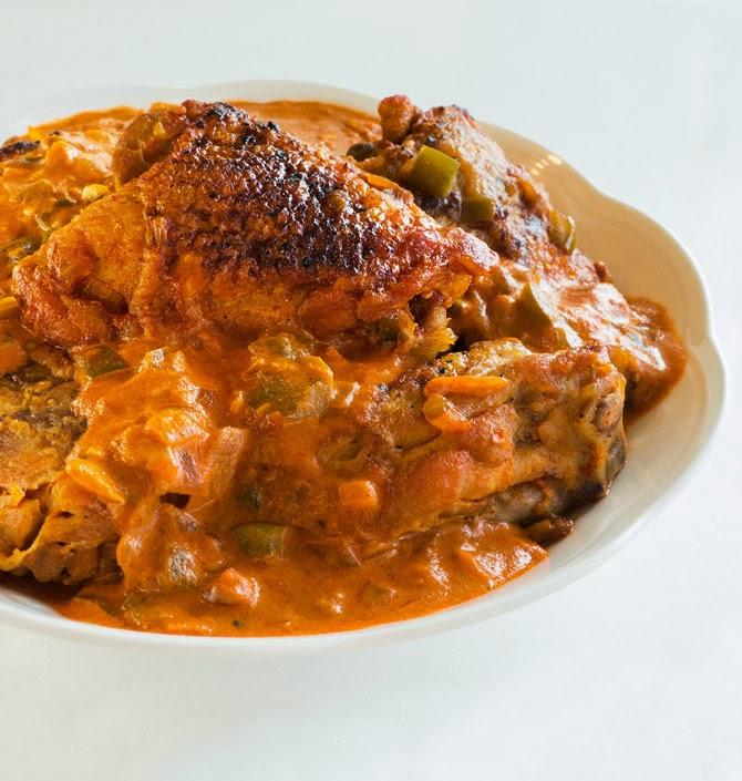 those who insist lard is necessary when preparing chicken paprikash ...