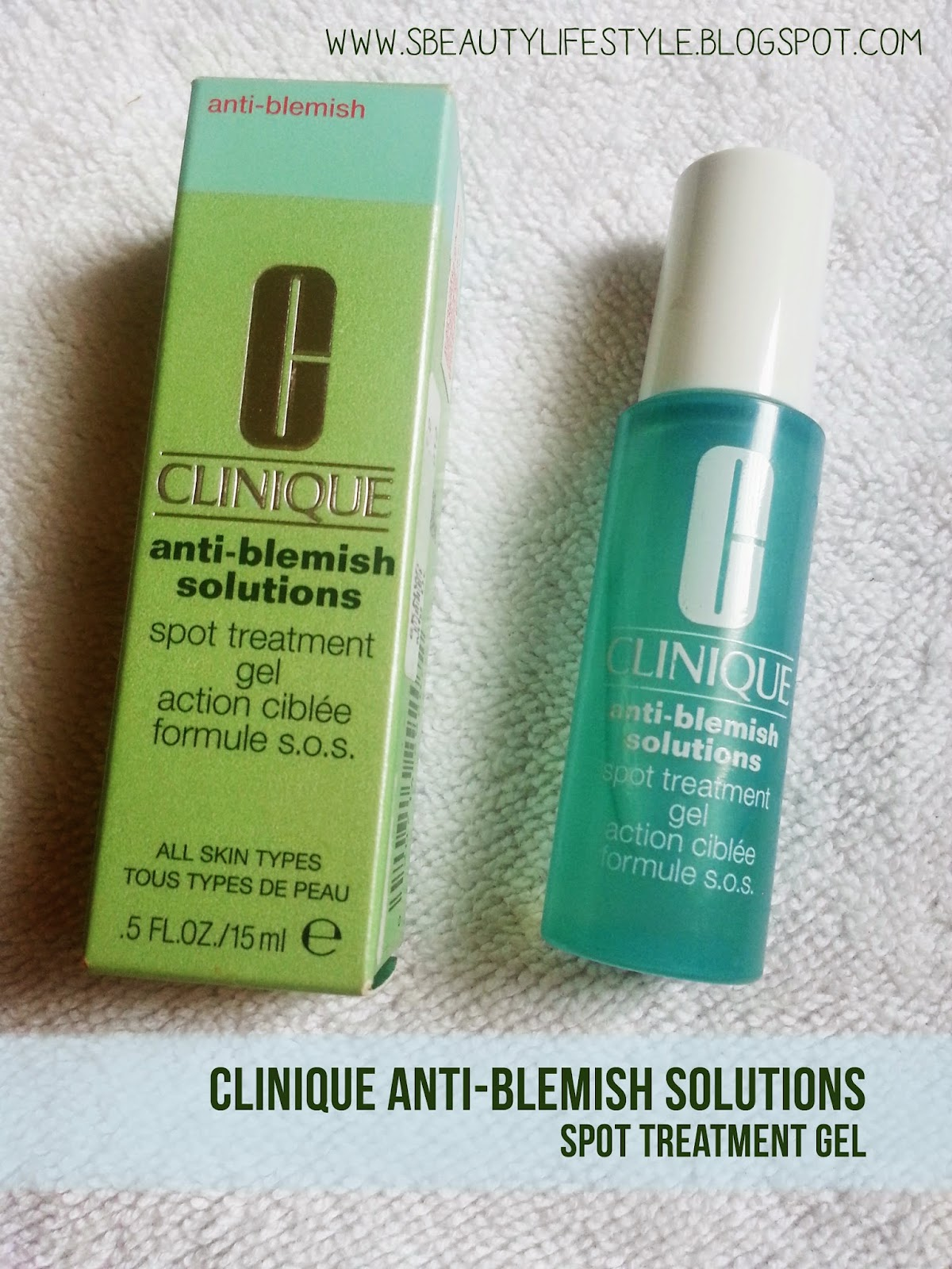 clinique anti blemish treatment gel