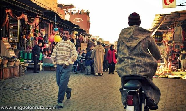 Zoco-Marrakech-Marruecos