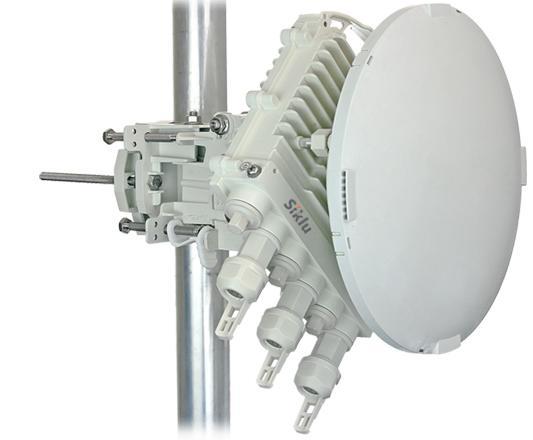 mikrovlnný přenos SIKLU 80 GHz