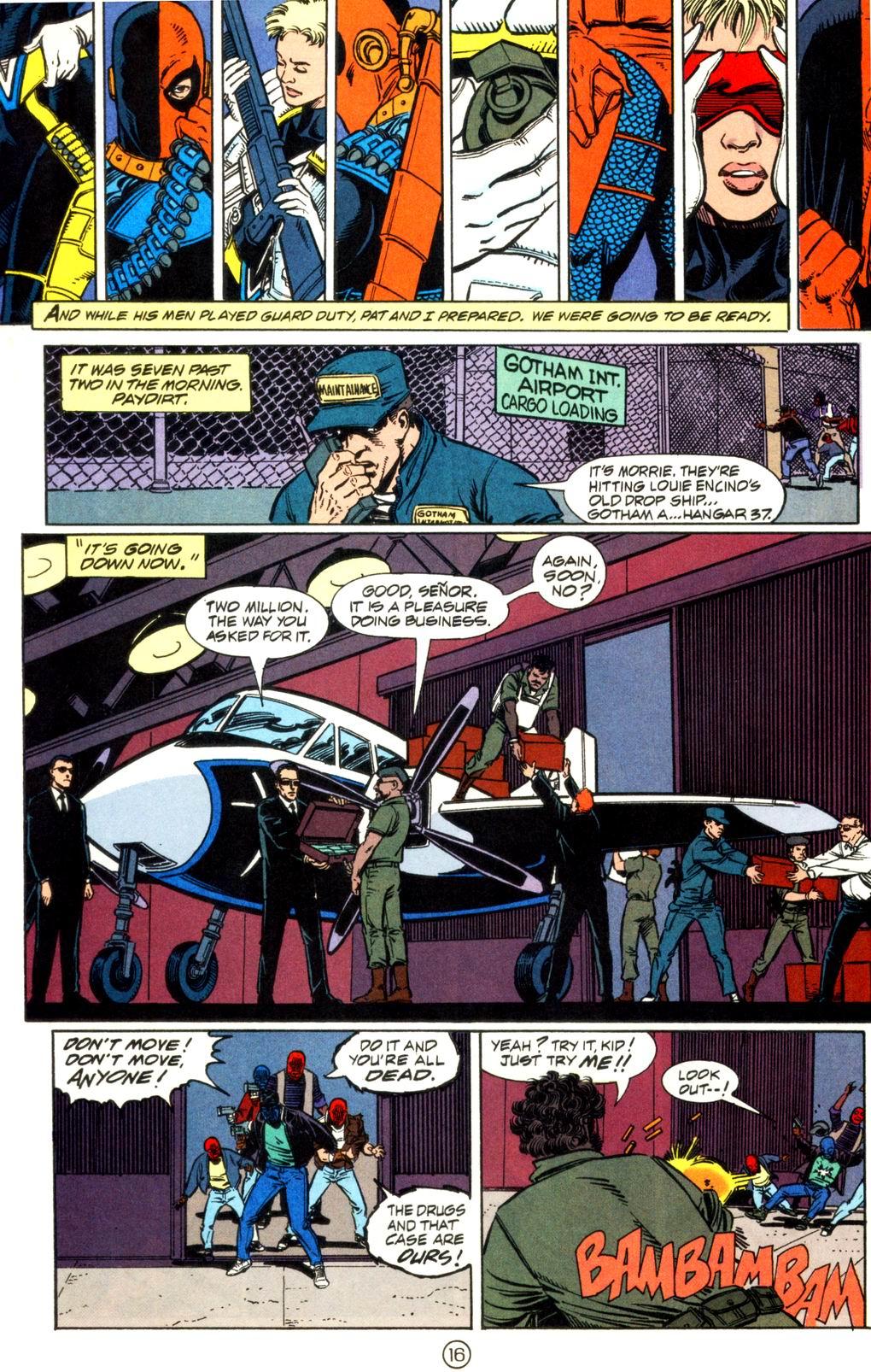 Deathstroke (1991) Issue #11 #16 - English 17