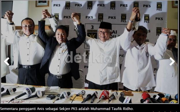 Pemilihan Presiden PKS,DPP PKS Jl. TB.Simatupang Jakarta,Anis Matta terpilih oleh dewan syuro PKS menjadi Presiden PKS,sekjen PKS di gantikan oleh Muhammad Taufik Ridho,Luthfi Hasan Ishaaq tersandung kasus korupsi daging sapi import