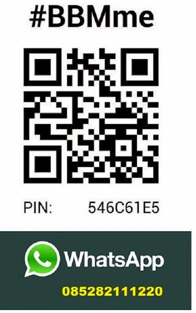 Contact via BBM / WhatsApp
