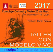 TALLER de Dibujo con MODELO VIVO 2017