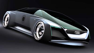 Futuristic Porsche