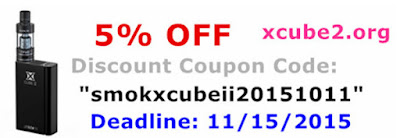 You can buy SMOK X CUBE 2 with best price before 11/15/2015
