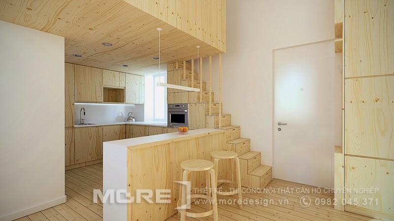 Nội thất căn hộ chung cư mini