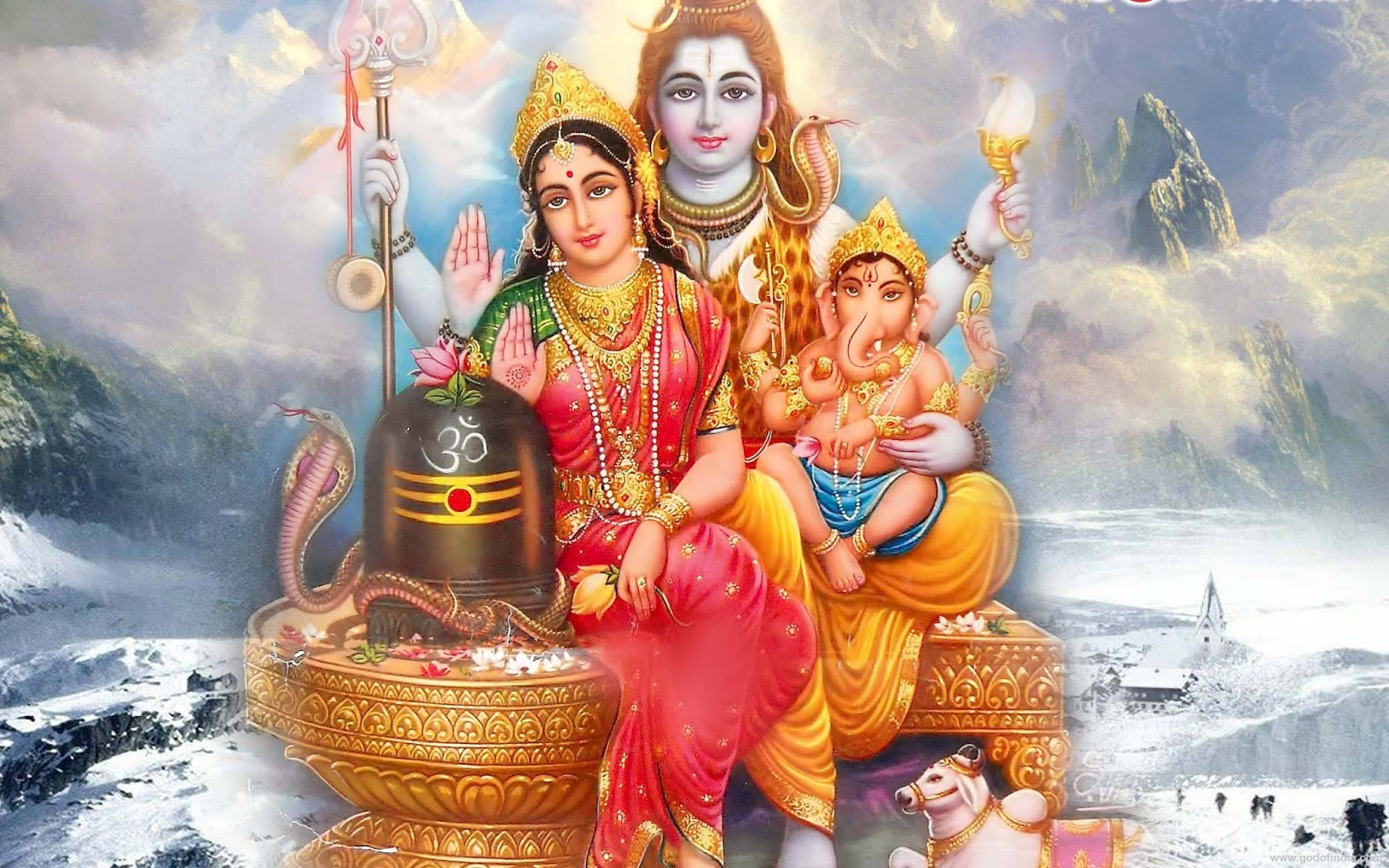 lord shiva family hd wallpaper | wallpapper