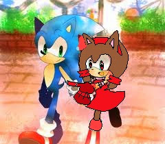 yo mariajose the hedgehog y sonic the hedgehog