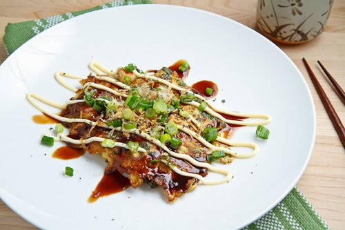 Egg Foo Young, Okonomiyaki Style