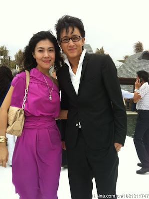 Hangeng at Barbie Hsu's private wedding photos