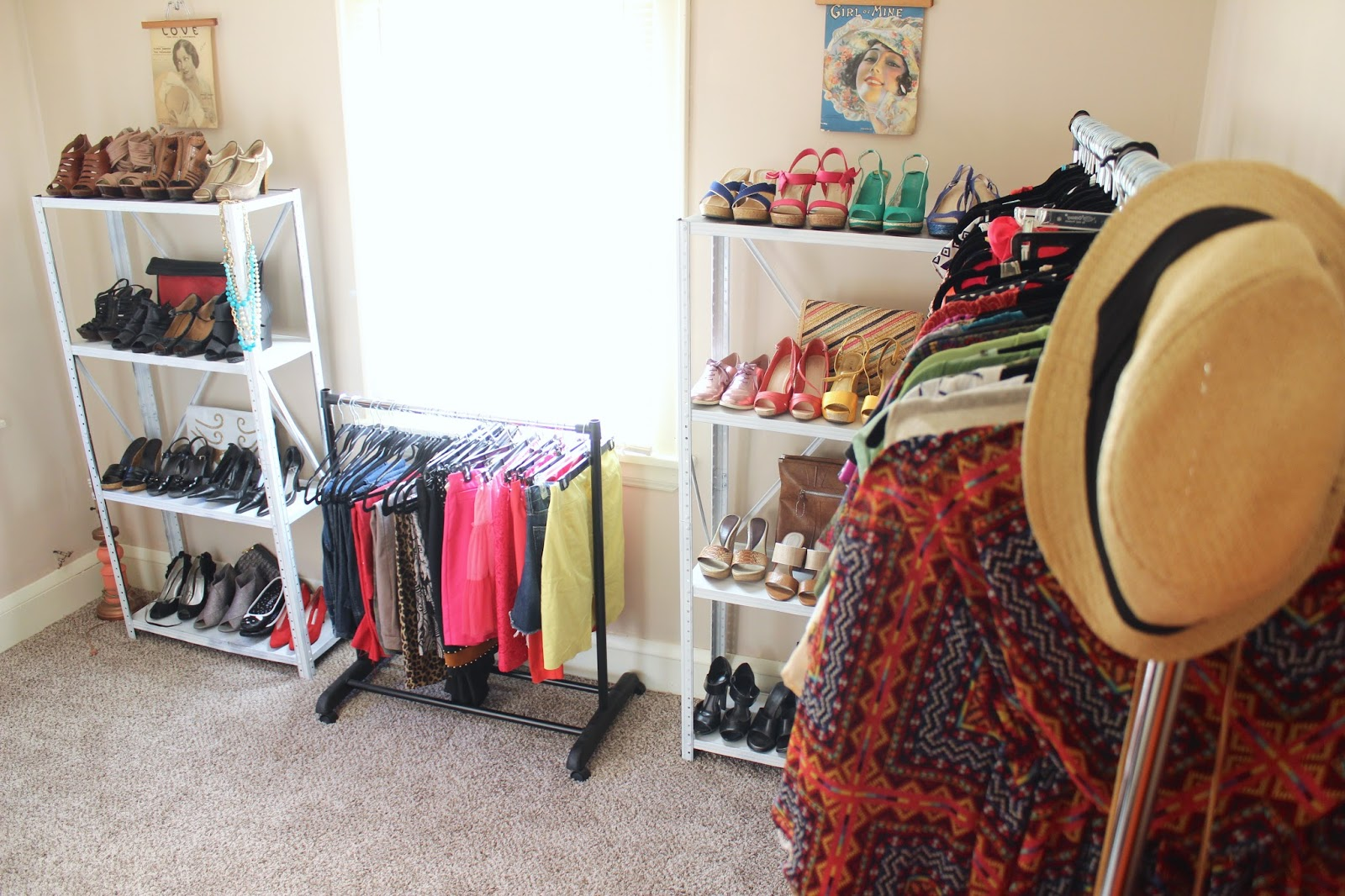 Dina 39 S Days Turning A Spare Room Into A Dressing Room Or Walk In Closet Part Ii
