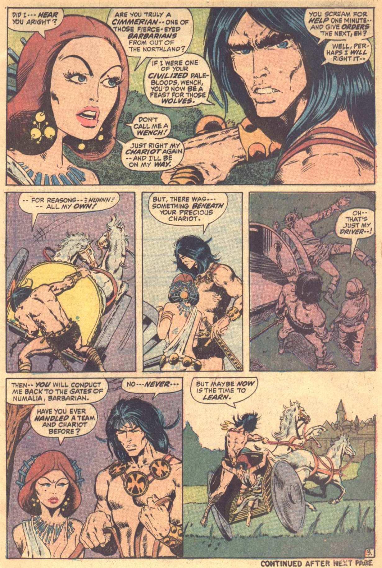 Conan the Barbarian (1970) Issue #7 #19 - English 4
