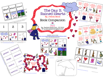 http://www.teacherspayteachers.com/Product/The-Day-It-Rained-Hearts-Book-Companion-1101195