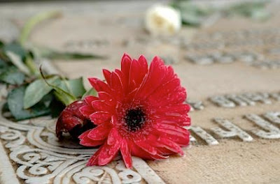 طفل برازيلي استيقظ من الموت وطلب كوبًا من الماء ثم مات مرة أخرى - grave stone- dont-wake-up-dead