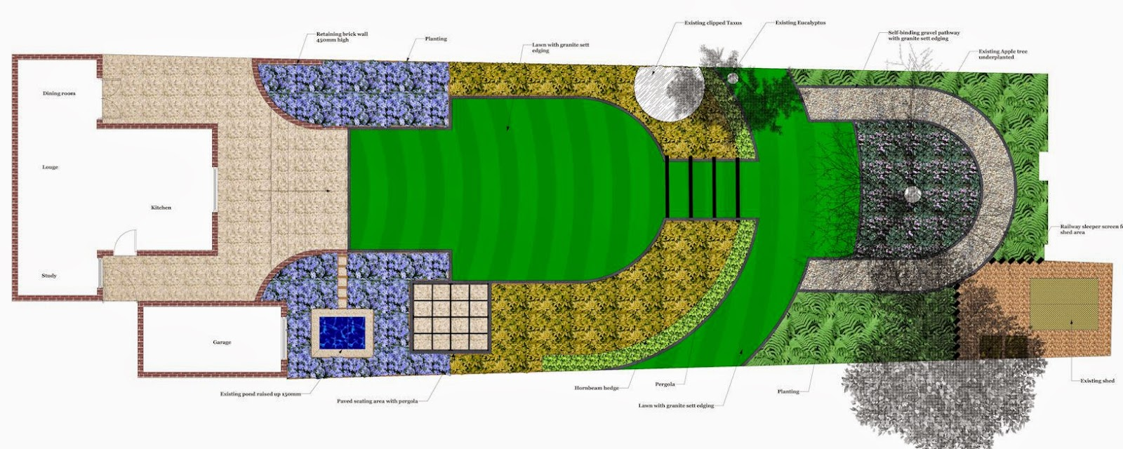 A life designing how much does garden design cost for Medium garden design