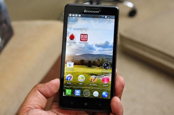 android lenovo p780