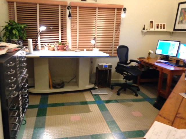 Gayle Kabaker's studio