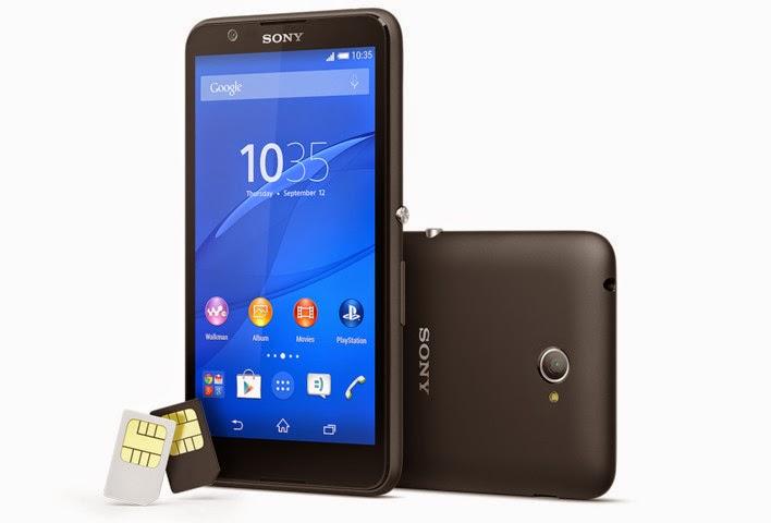 Sony Xperia E4g resmi diumumkan, harga 2 jutaan dengan jaringan 4G LTE