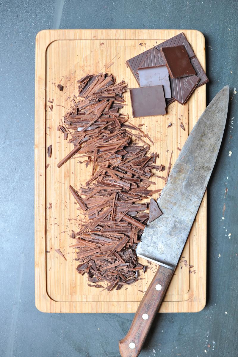 Dark Chocolate Tiramisu with Hazelnuts and Meringue