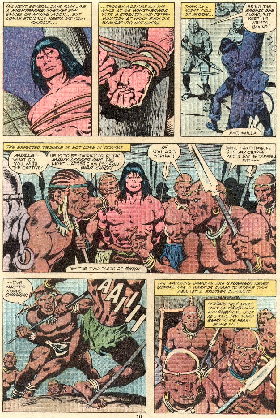 Conan the Barbarian (1970) Issue #101 #113 - English 8