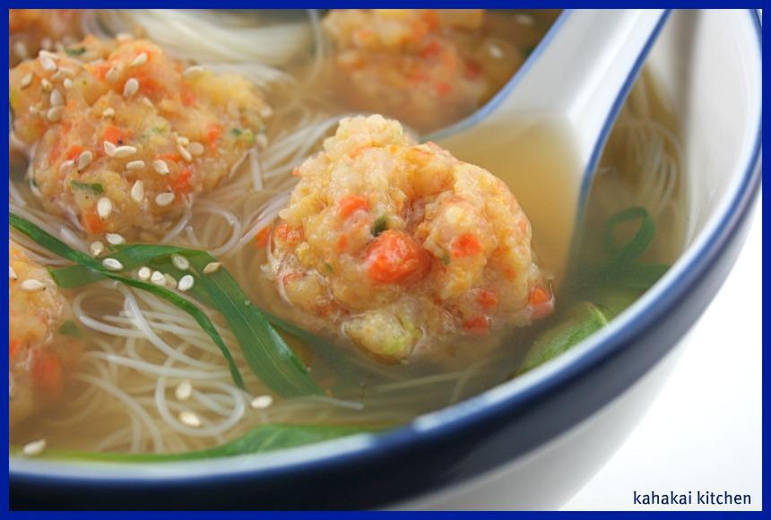 Kahakai Kitchen: Chinese Shrimp Ball Soup and a Cookbook ...