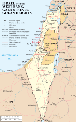A Lifelong Journey, a Day at a Time: 12 Tribes of Israel – locations on