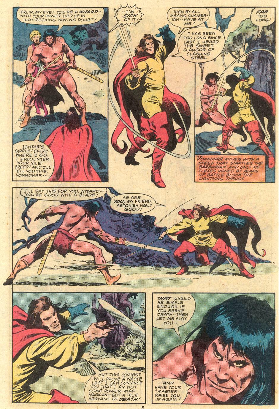 Conan the Barbarian (1970) Issue #120 #132 - English 5