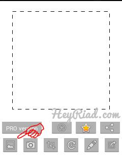 Cara menggunakan aplikasi profil wo crop BBM