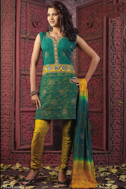 Best Anarkali Salwar Kameez Designs of 2012 from India & Pakistan ~ Part Two
