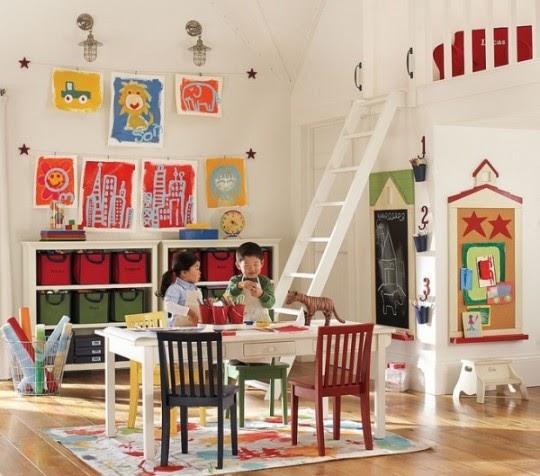 Como crear un cuarto de juegos ideas para decorar - Juego de crear tu casa ...