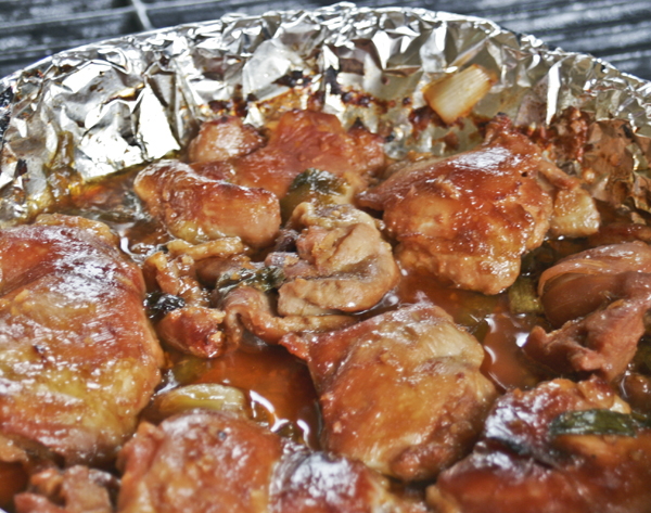 Honey Ginger Chicken Thighs