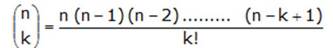 Si n es fraccionario, su coeficiente binomial es