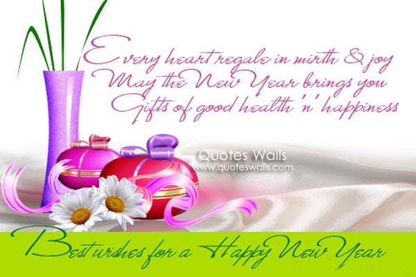 Happy New Year Short Whatsapp Status & DP   Wish Message Quotes