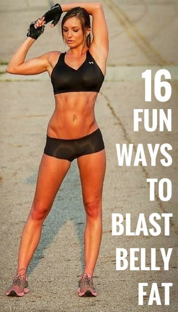 16 Fun Exercises To Help Blast That Belly Fat