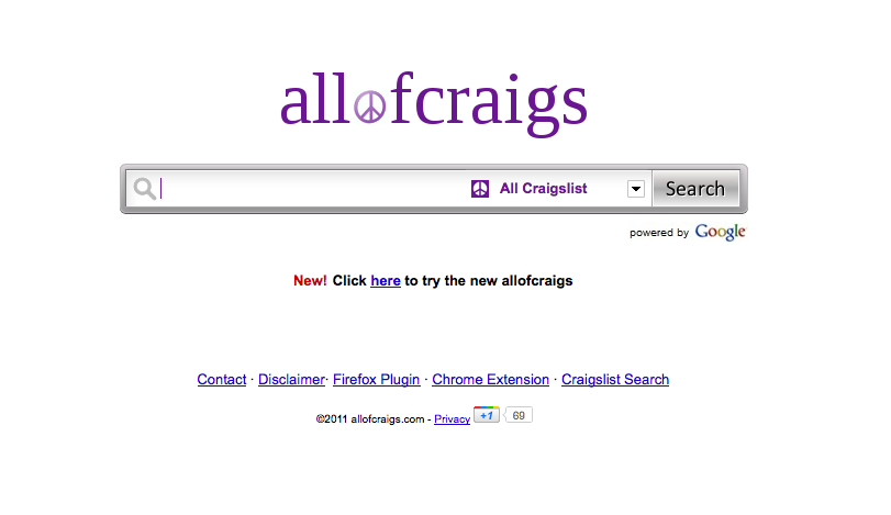 how can i search all of craigslist