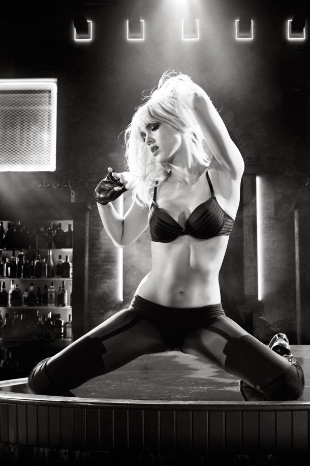 Jessica Alba as Nancy Callahan in Sin City