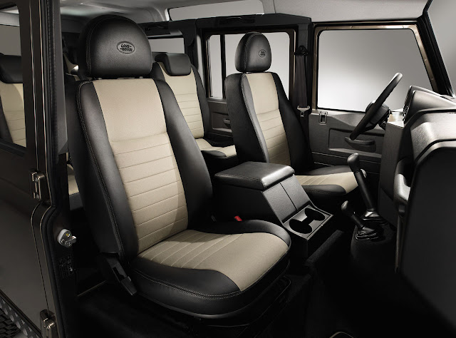 сидения Land Rover Defender 2012