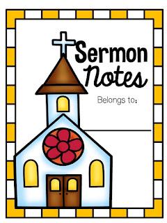 https://www.teacherspayteachers.com/Product/Free-Sermon-Notes-2284507