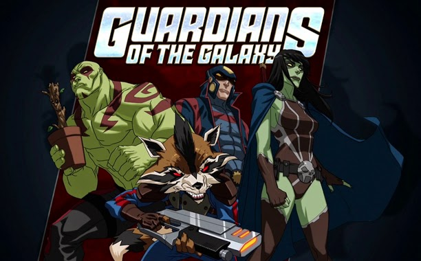 Guardians of the Galaxy - Animated TV Show coming to Disney XD
