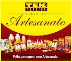 ♥ Parceria Tek Bond  ♥