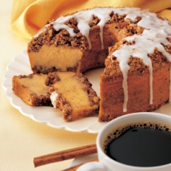 coffee cake is a cake often sponge cake which is made with coffee or ...