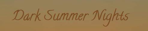 Dark Summer Nights - Novel Blog
