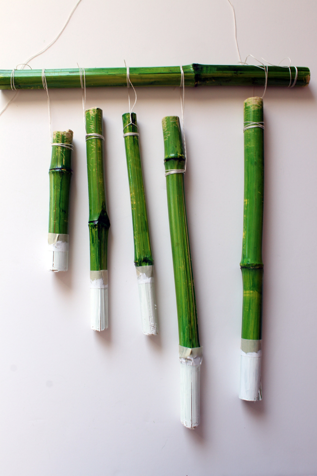 dans share diy bamboo wind chimes