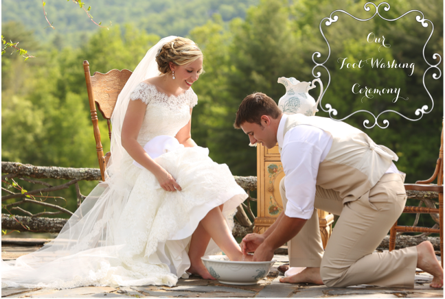 Our Foot Washing Ceremony