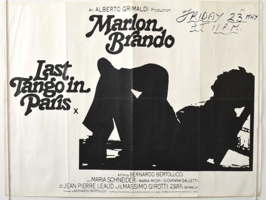 """""""Last Tango in Paris"""" (1972)"""