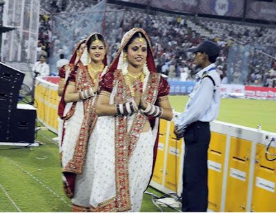 Ipl Cheer Leaders image In saree